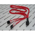 SFF-8087 to 4x SATA 7pin Internal SAS/SATA Cable - 1M